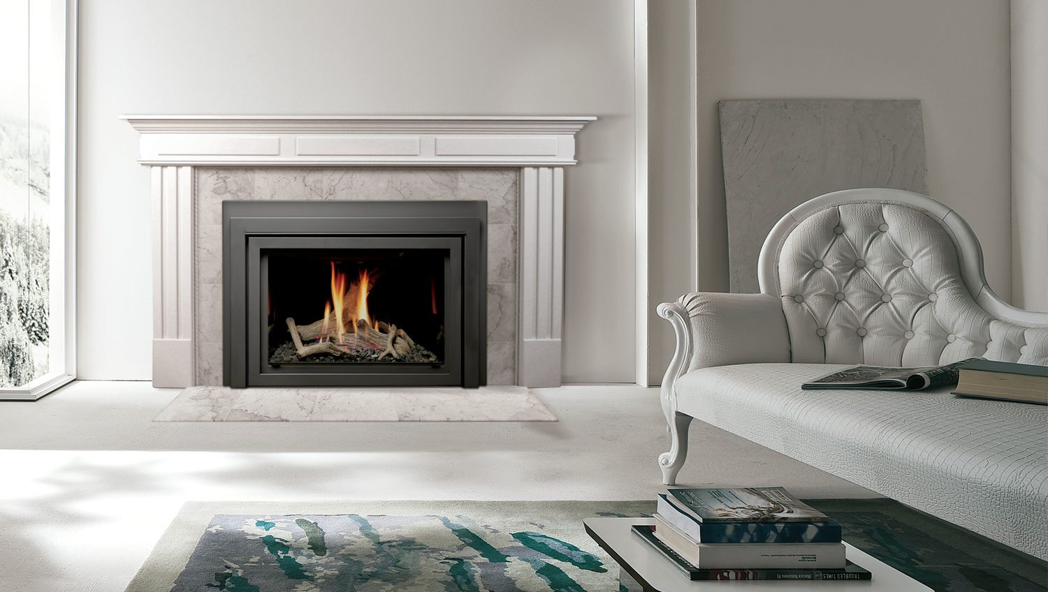 Marquis Capella Series 33 43 Direct Vent Gas Fireplace Insert