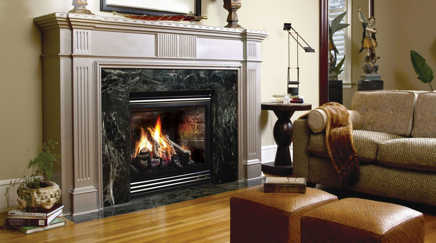 Marquis Solace Direct Vent See Through Gas Fireplace
