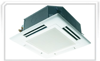 Mitsubishi 4 Way Cassette Ductless Systems Toronto Best