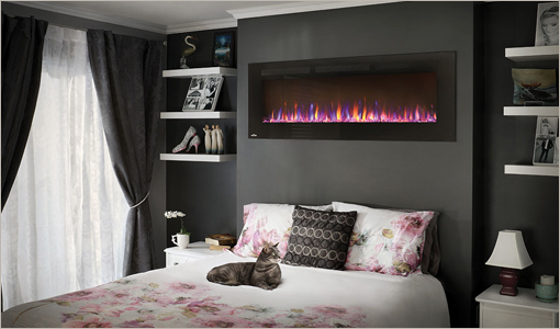 Napoleon Wall-Hanging Electric Fireplace