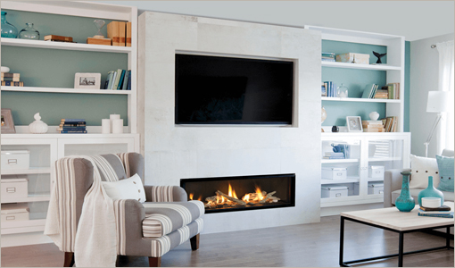 Valor Zero-Clearance Gas Fireplaces