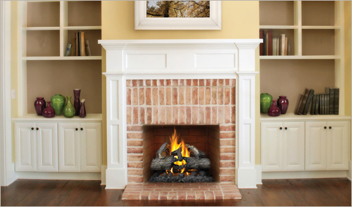 Gas Fireplaces - Log Sets