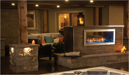Napoleon Outdoor Gas Fireplaces