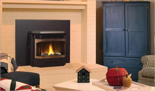 Regency Pellet-Inserts Gas Fireplaces