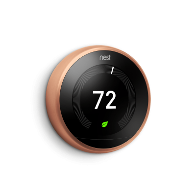 Nest Thermostat-Copper