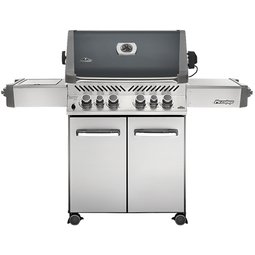 Prestige 500 With Infrared Side And Rear Burners With Grey