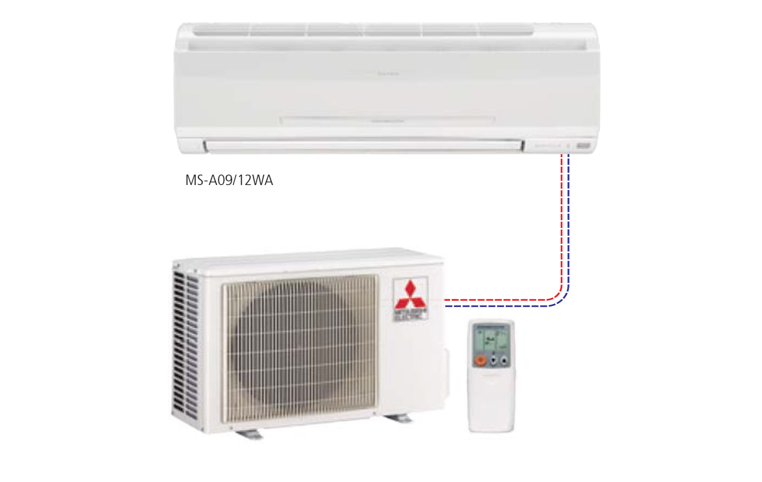 Single Ductless Split Systems U2013 Single Speed Wall Mounted Style