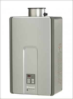 Rinnai High-Efficiency-Plus Tankless Water Heaters
