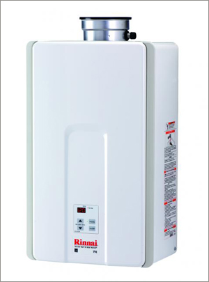 Rinnai High-Efficiency Tankless Water Heater