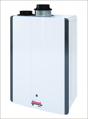 Rinnai Super-High-Efficiency Tankless Water Heaters