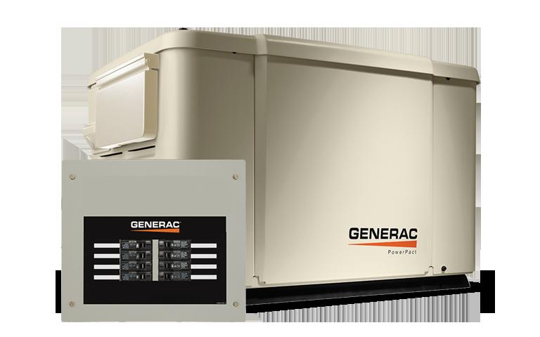 Generac Powerpact 7 5kw Home Backup Generator Toronto