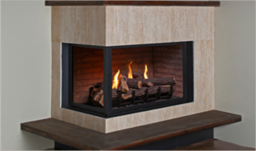 Montigo Corner-Left Gas Fireplaces