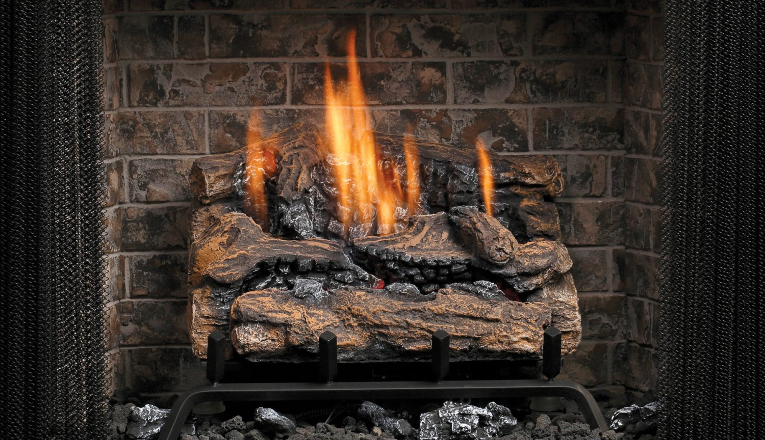 Kingsman Vented Vent Free Gas Log Sets Toronto Best Price
