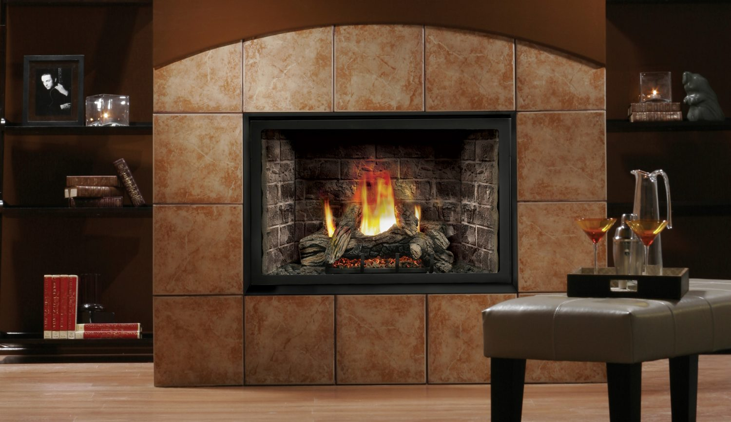 Kingsman HBZDV3624 28 Direct Vent Gas Fireplace