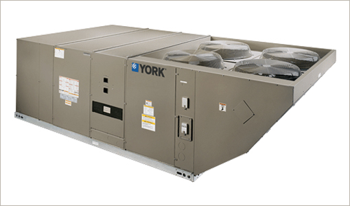 York Large Sunline Series Commercial Rooftop Units