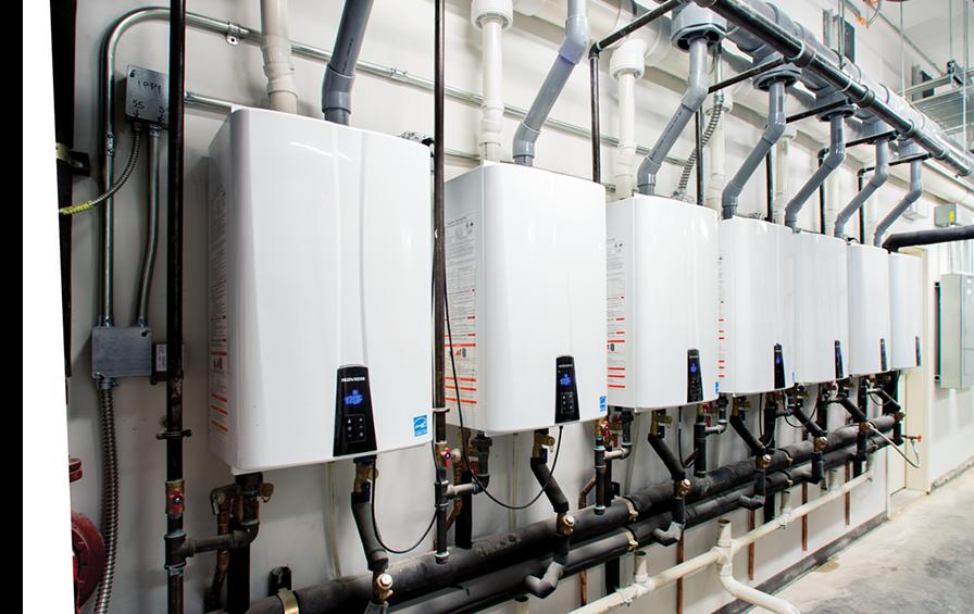 Navien Tankless Water Heater Venting : Npe s condensing tankless water heater navien