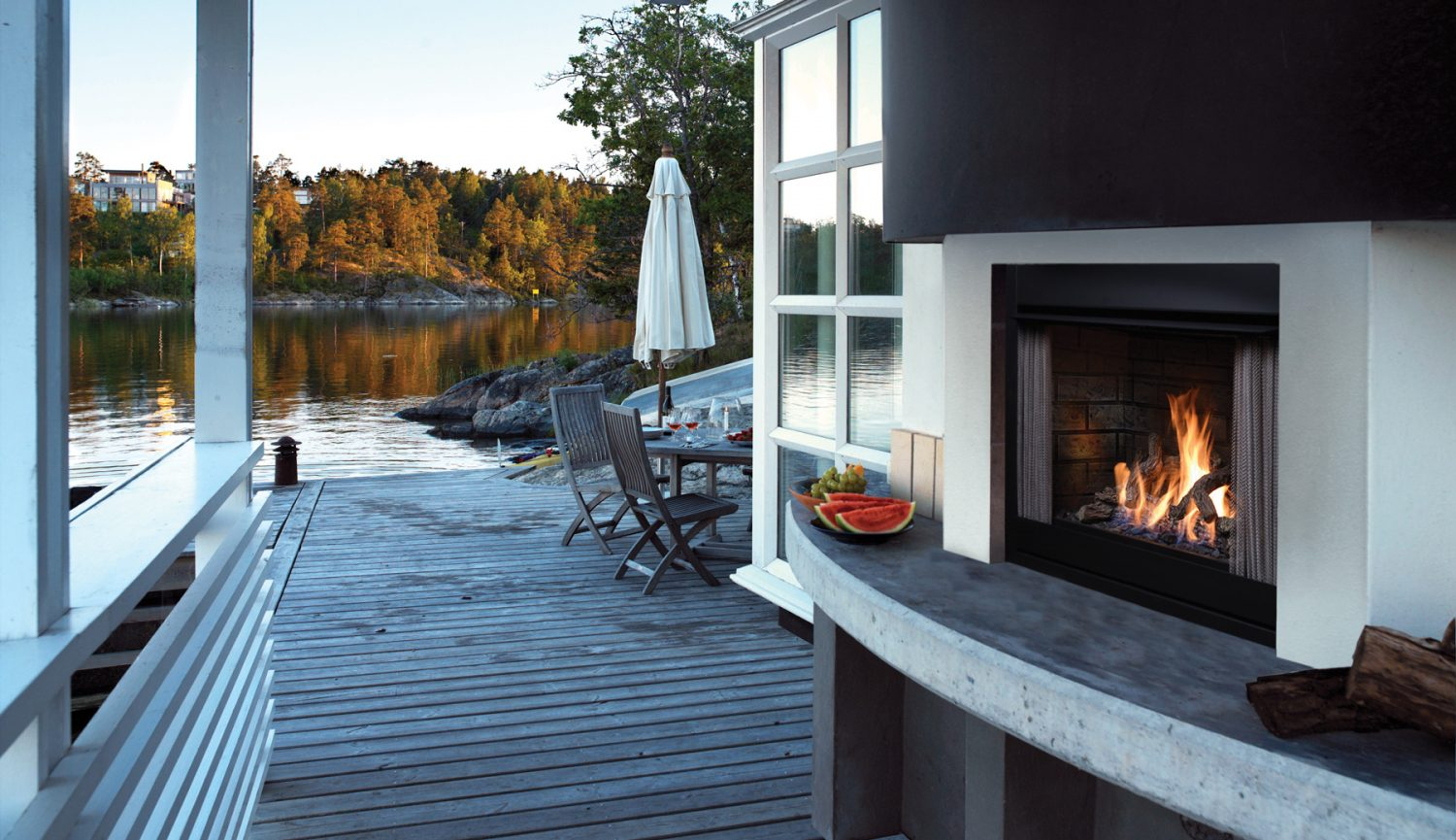 OFP42 Outdoor Gas Fireplaces-1