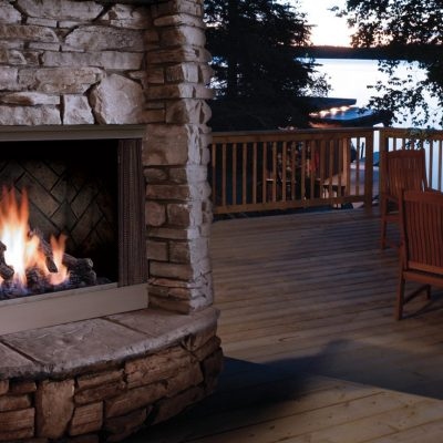 OFP42 Outdoor Gas Fireplaces