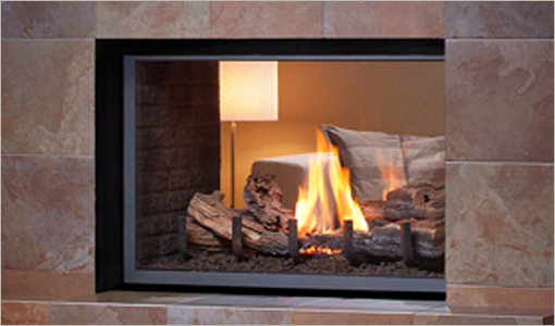 Montigo See-Through Gas Fireplaces