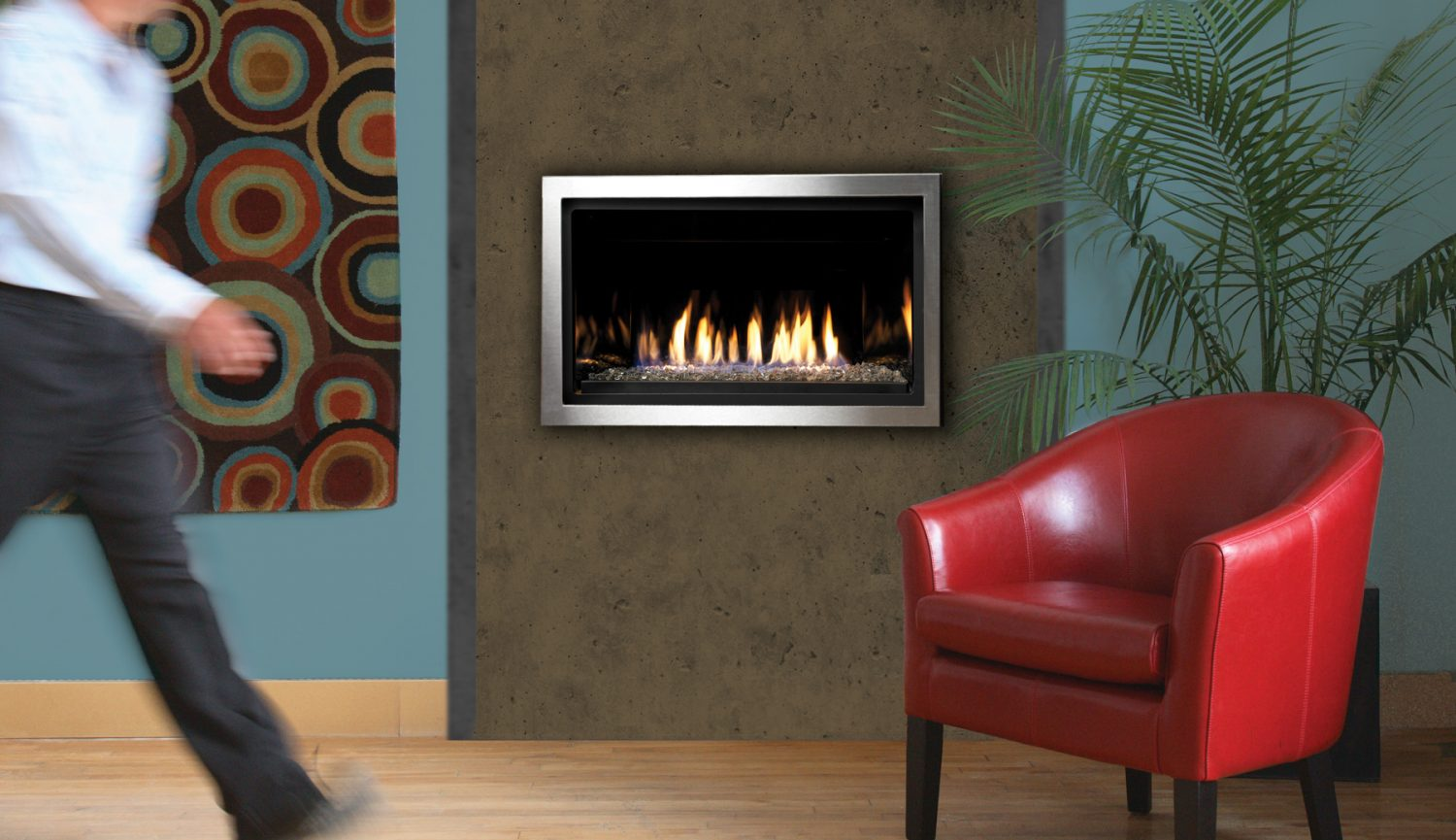 Kingsman ZCVRB3622 Direct Vent Fireplace