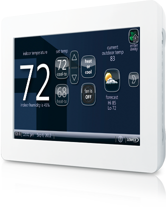 What can I do with the iComfort Wi-Fi Demo Thermostat?