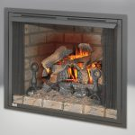 Zero Clearance Firebox with Fireplace Screen Available in 36 & 42