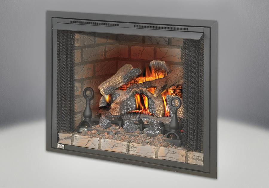 Napoleon Fiberglow VF24 Vent Free Gas Log Set Fireplace ...
