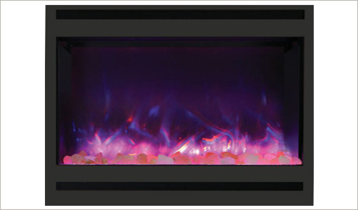 Amanti Zero-Clearance Electric Fireplace