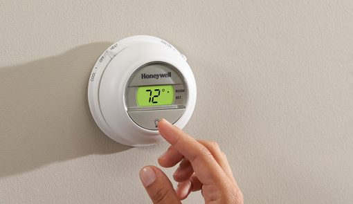 Digital The Round® Non-Programmable Thermostat (T8775X)-2