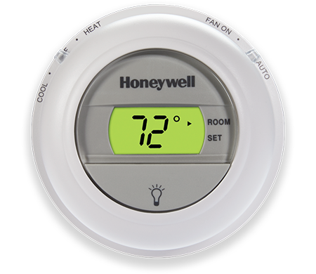 Honeywell Digital The Round Non Programmable Thermostat