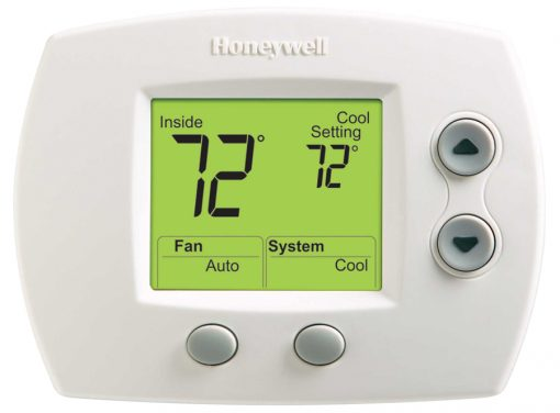 Large Screen FocusPRO TH5110 Non-programmable Thermostat