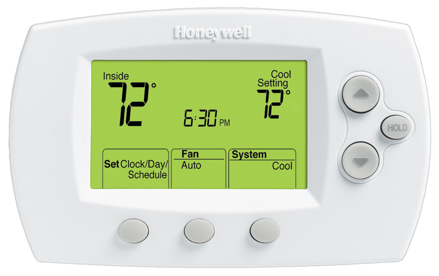 Honeywell Focuspro 6000 5 1 1 5 2 Day Programmable Thermostat