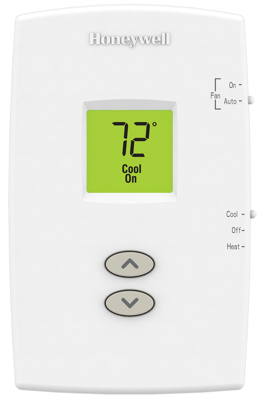 Honeywell Pro 1000 Non Programmable Thermostat In Toronto Best Rth2410 Wiring Diagram Single Stage Heat Cool Vertical Thermo