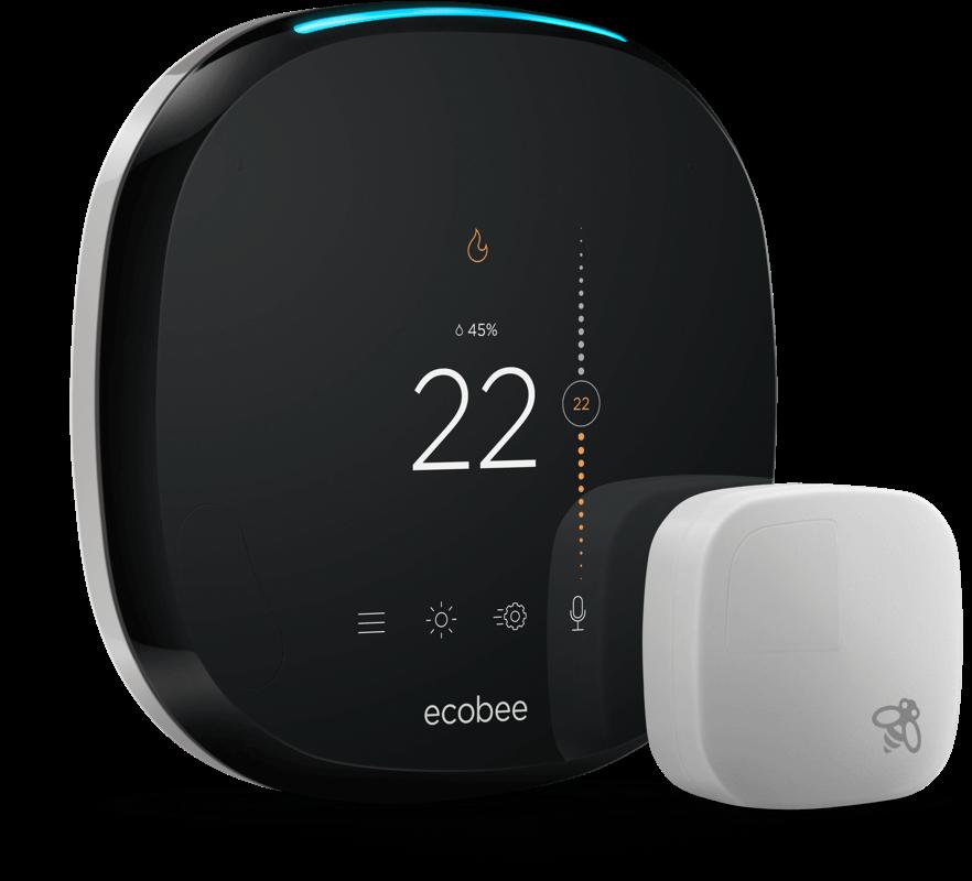 Diagram Ecobee4 Alexa Smart Thermostat