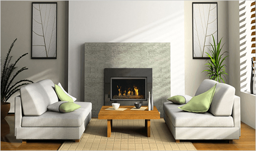 Savannah Indoor Gas Fireplace