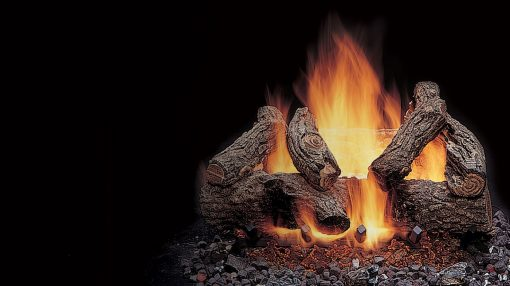 Majestic American Oak Gas Log Sets