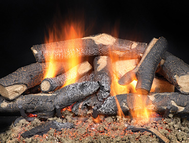 Majestic Fireside Supreme Oak Gas Log Sets