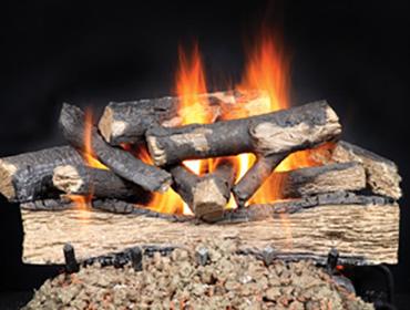 Majestic Fireside Versawood Gas Log Sets