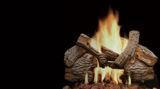 Majestic Massive Oak Gas Log Sets-1