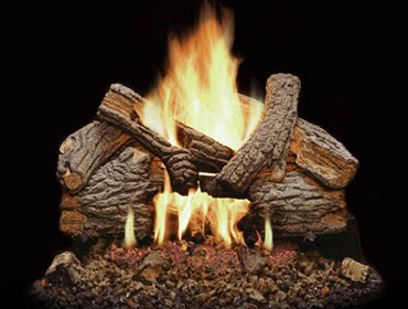 Majestic Massive Oak Gas Log Sets