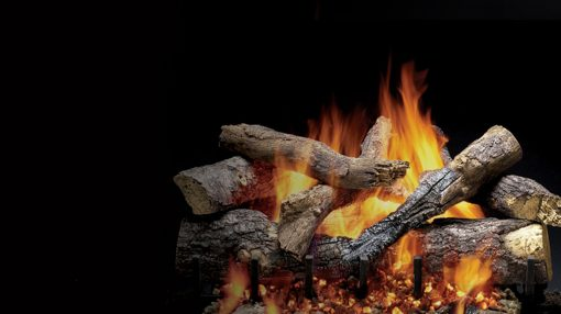 Majestic Outdoor Grand Oak Gas Log Sets-1