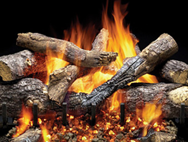 Majestic Outdoor Grand Oak Gas Log Sets
