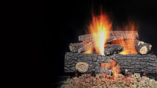 Majestic Outdoor Realwood Gas Log Sets-1