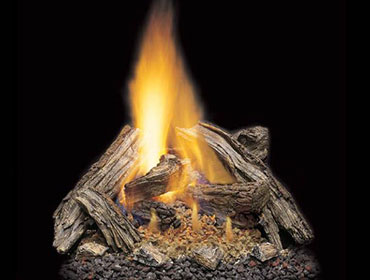 Majestic Split River Oak Gas Log Sets