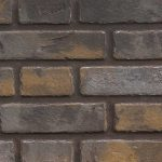 Newport™ Decorative Brick Panels. Available only with the Log Set Burner. (2 required for See Thru unit)