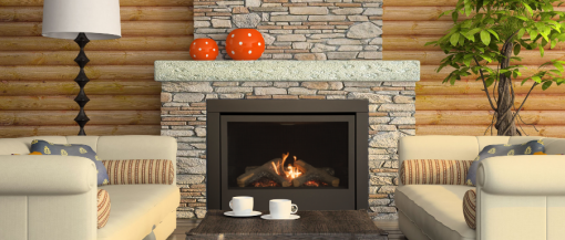 Savannah Noble 36 Limited Series Gas Fireplace