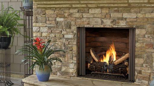 Majestic Carolina Gas Fireplace