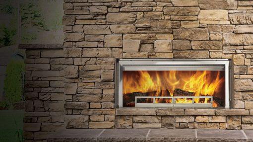 Majestic Longmire Gas Fireplace