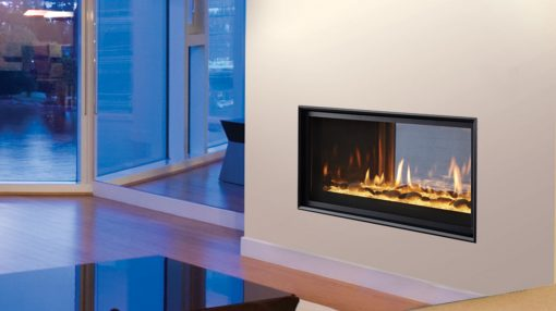 Majestic Mezzanine See-Through Gas Fireplace-1