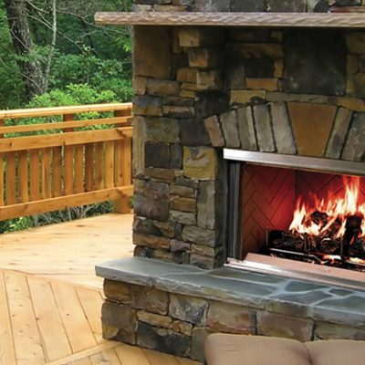 Majestic Montana Gas Fireplace